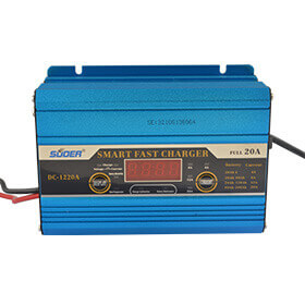 Suoer 20A 12V charger portable battery charger with Jump Start Function