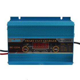 Suoer 30A 12V charger portable battery charger with Jump Start Function