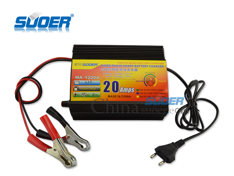 AGM/GEL Battery Charger - MA-1220A