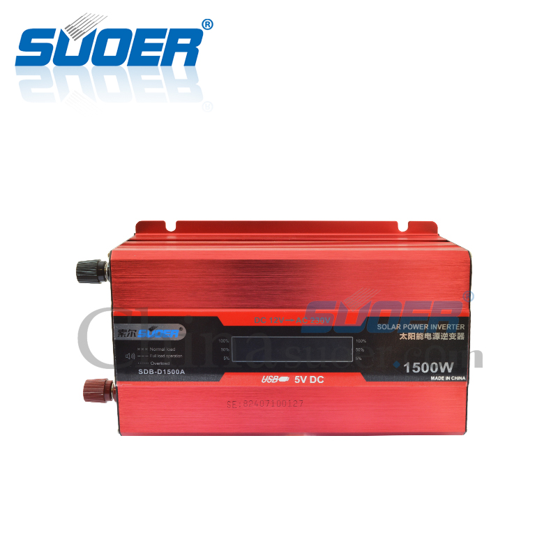 1500W 12V 220V Intelligent Power Inverter