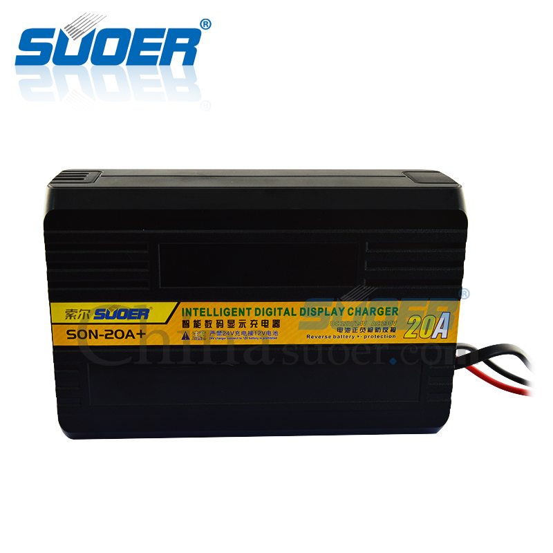 12v 24v automatic portable car battery charger