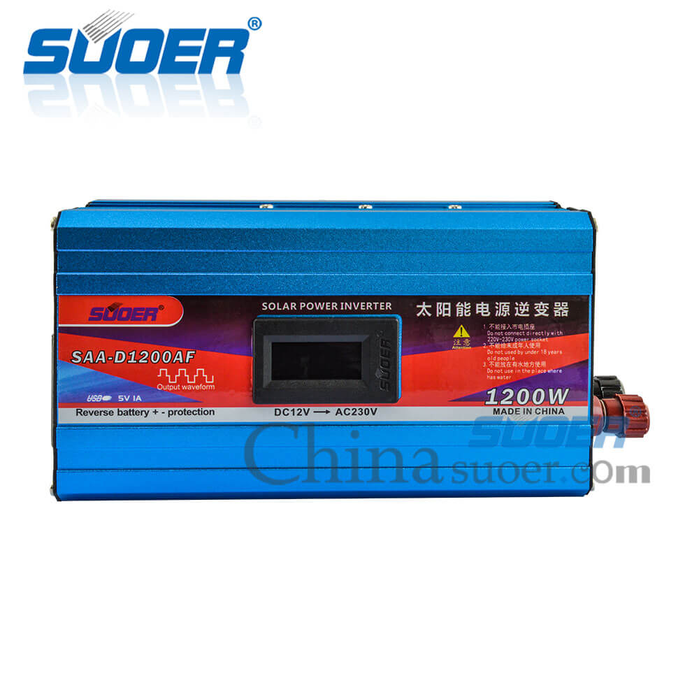 Modified Sine Wave Inverter - SAA-D1200AF