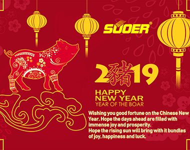 Vacation Notice of Chinese New Year 2019