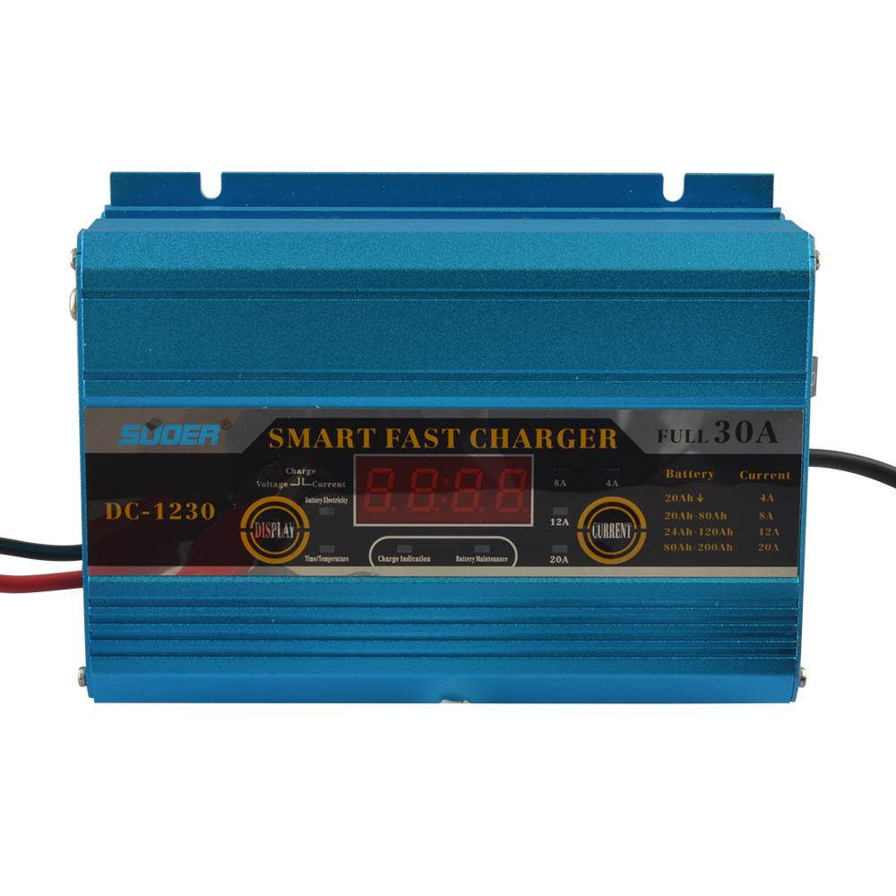AGM/GEL Battery Charger - DC-1230A