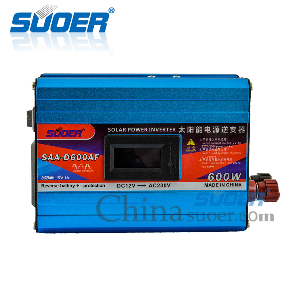 Modified Sine Wave Inverter - SAA-D600AF