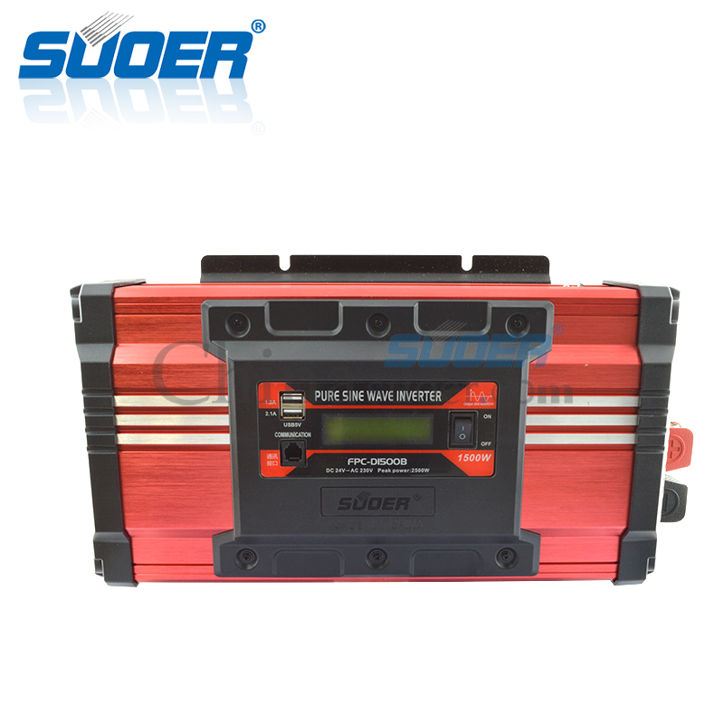 1500W 24V 230V High Frequency Pure Sine Wave Inverter