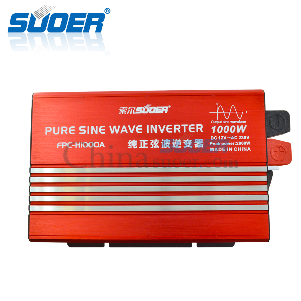 1000W 12V 230V Pure Sine Wave Inverter