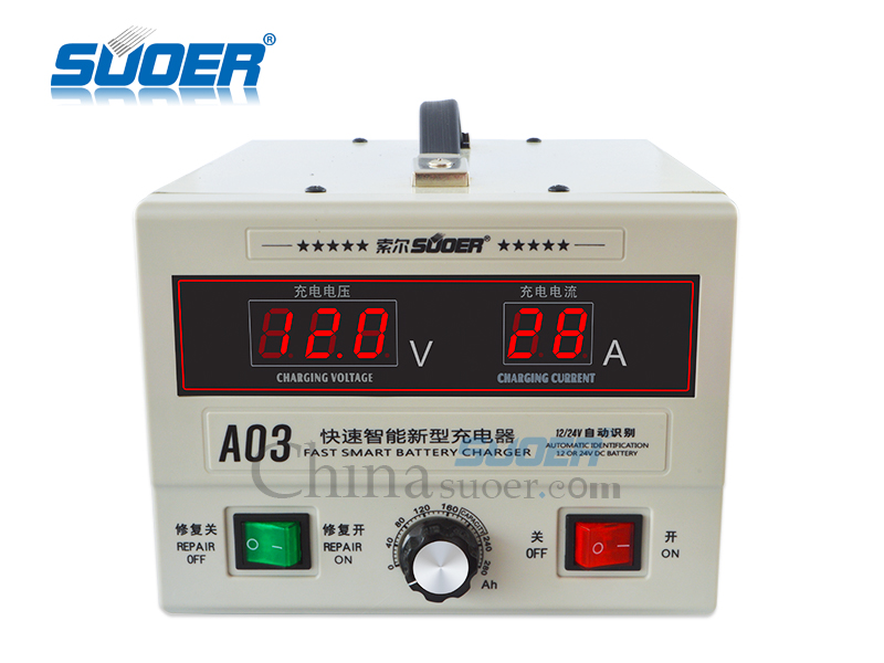 AGM/GEL Battery Charger - A03