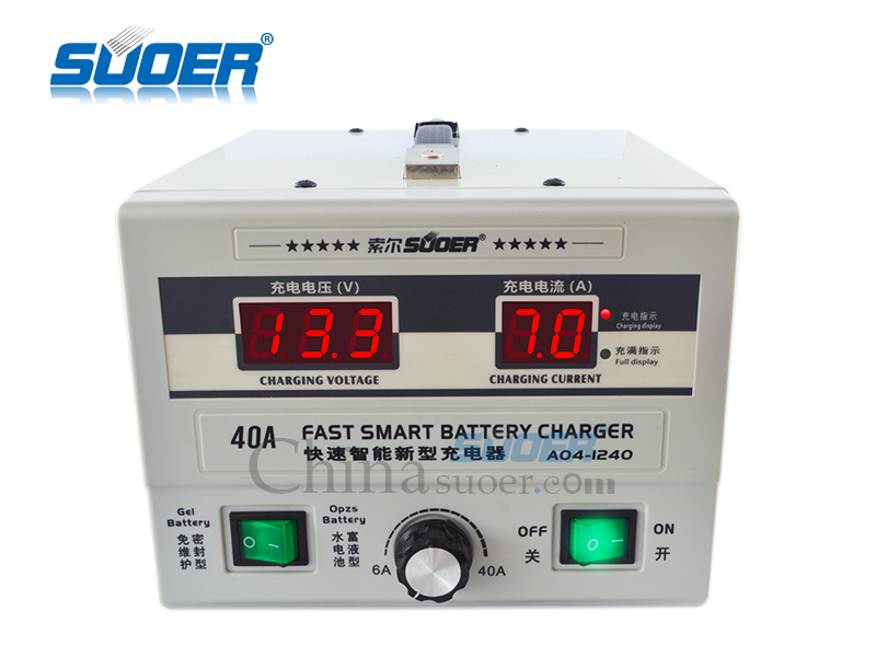 AGM/GEL Battery Charger - A04-1240