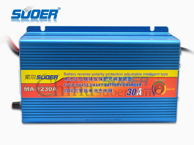 AGM/GEL Battery Charger - MA-1230A