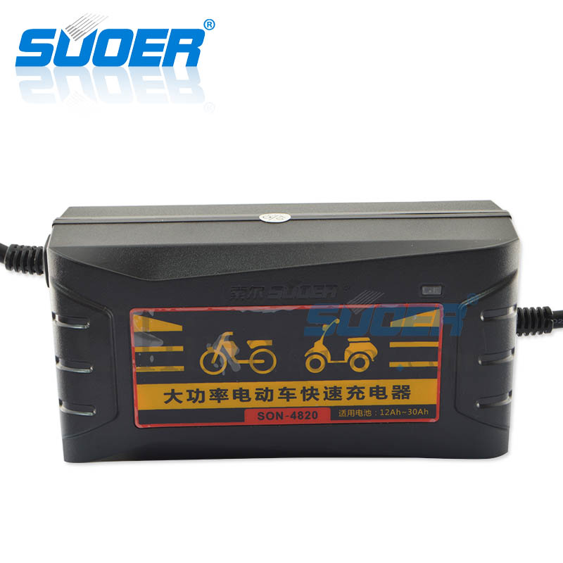 AGM/GEL Battery Charger - SON-4820