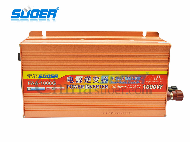 Modified Sine Wave Inverter - FAA-1000G