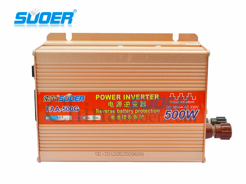 Modified Sine Wave Inverter - FAA-500G