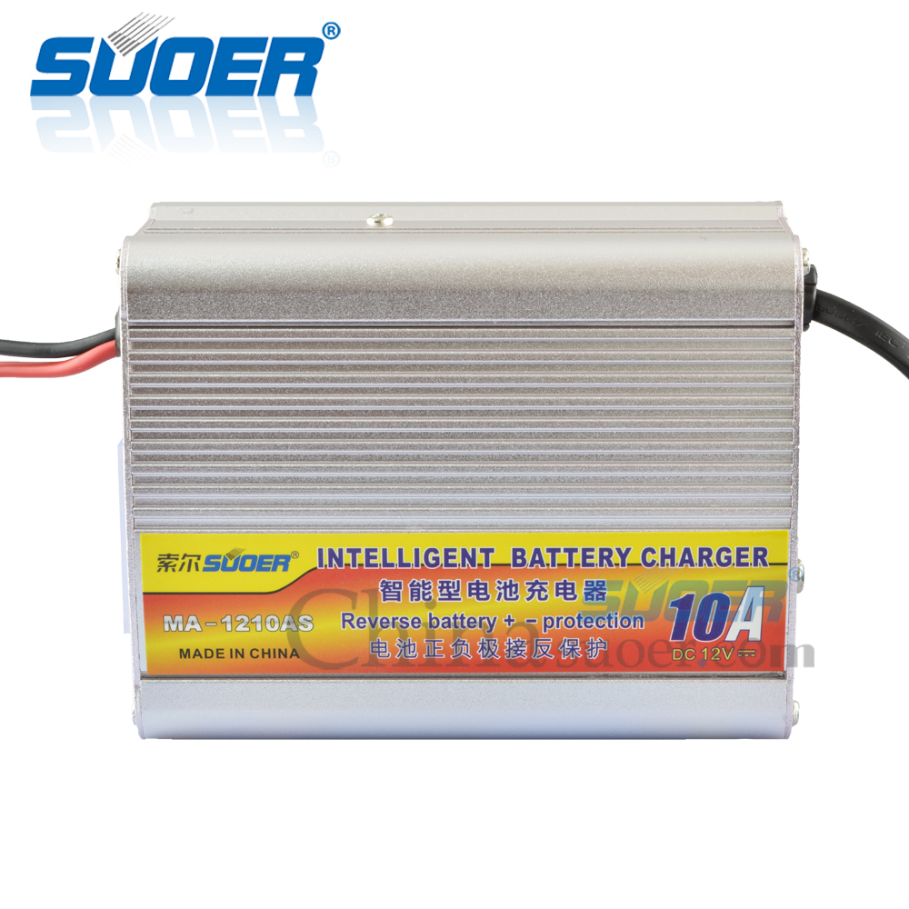 12V 10A Intelligent Battery Charger with Anti-reverse Function
