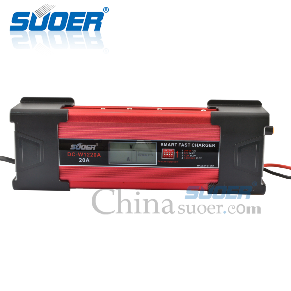 12V 20A Intelligent Smart Fast Battery Charger with CE