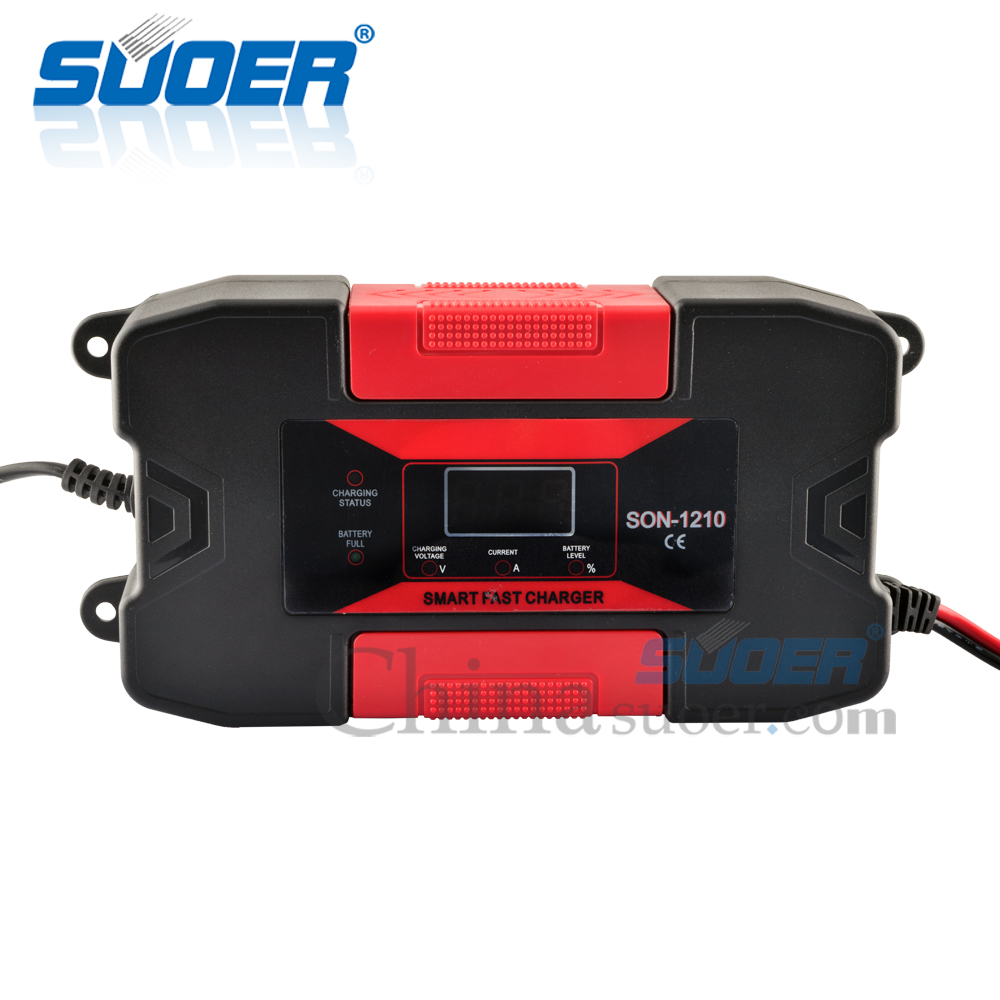 12V 10A Intelligent Battery Charger with CE