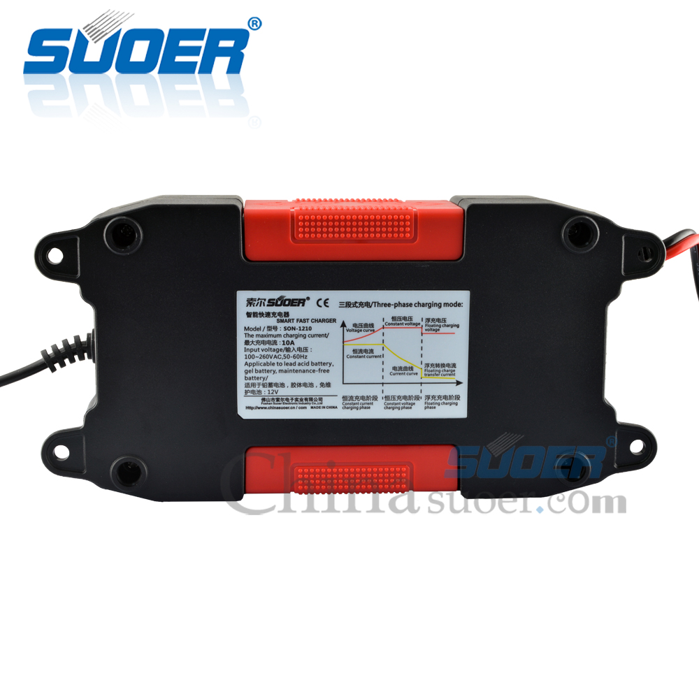 AGM/GEL Battery Charger - SON-1210CE