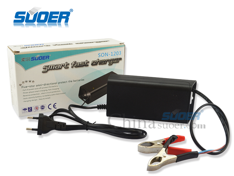 AGM/GEL Battery Charger - SON-1203