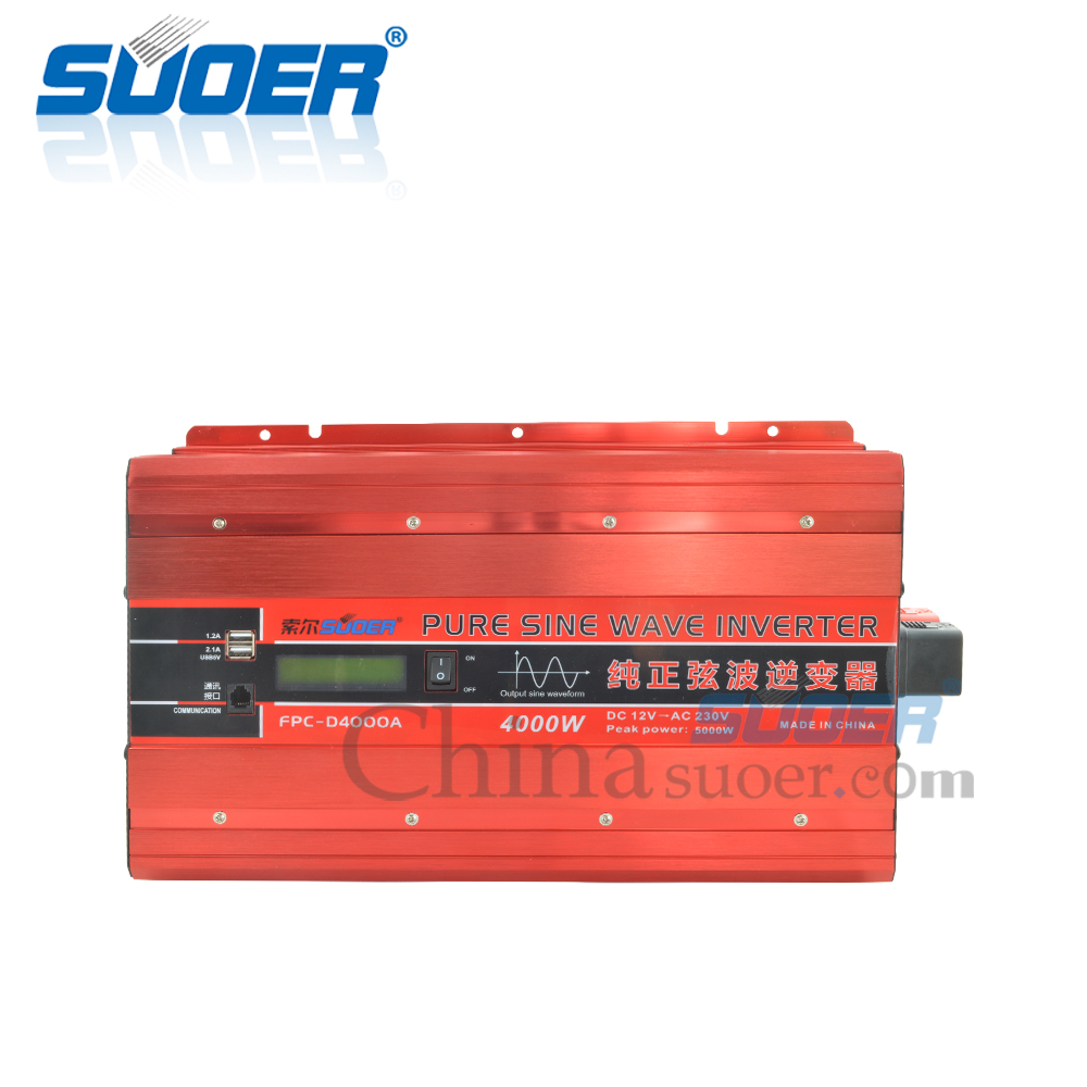 4KW 12V 230V Pure Sine Wave Inverter