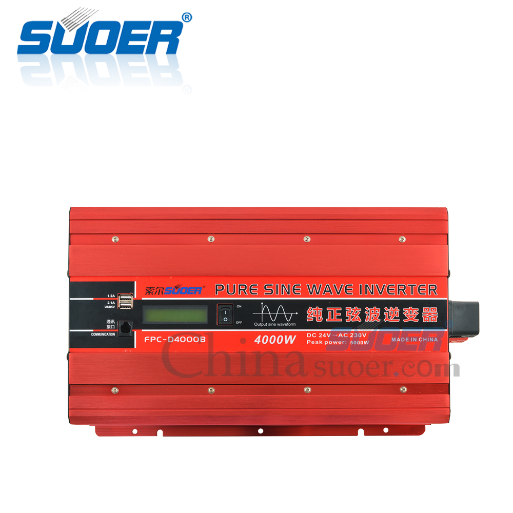 4000W 24V 230V Pure Sine Wave Power Inverter