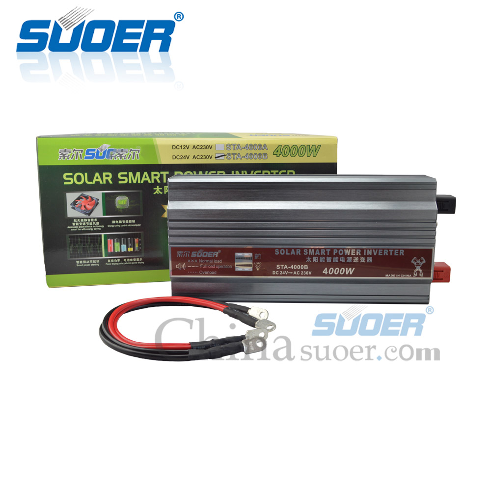 4KW 24vdc 220vac power inverter 5kva 24 volt modified sine wave inverter