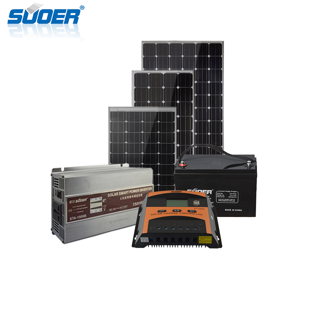 Off Grid Solar Power System - 24V 1000W OFF GRID SOLAR SYSTEM