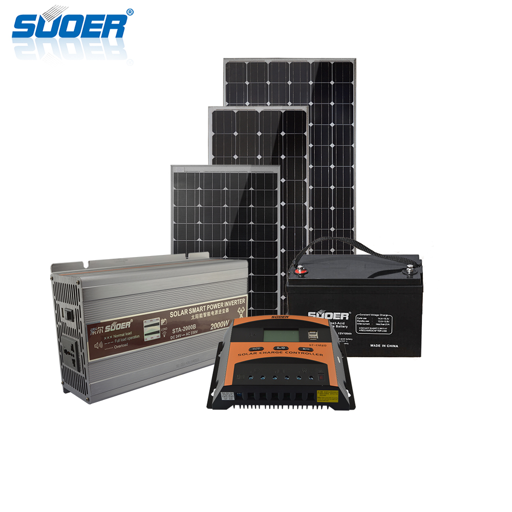 1500W 24V off grid home inverter power solar energy system