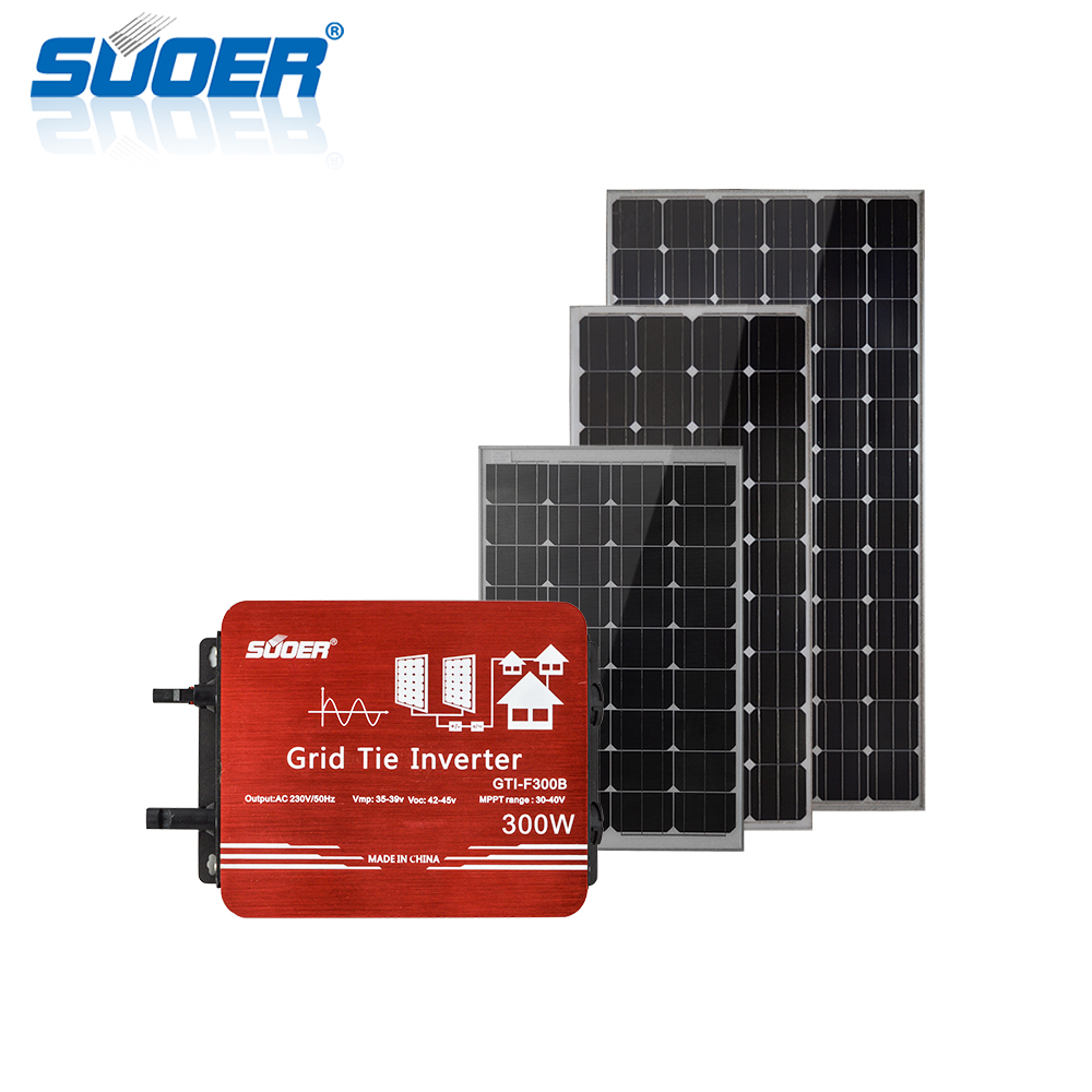 on grid tie Waterproof solar system power system for home