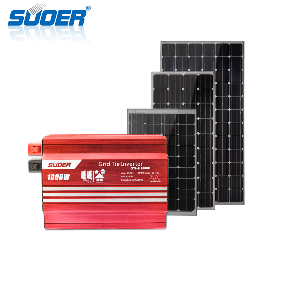 4kw pv on grid solar panel energy system grid tied systems FOB Reference Price:Get Latest Price