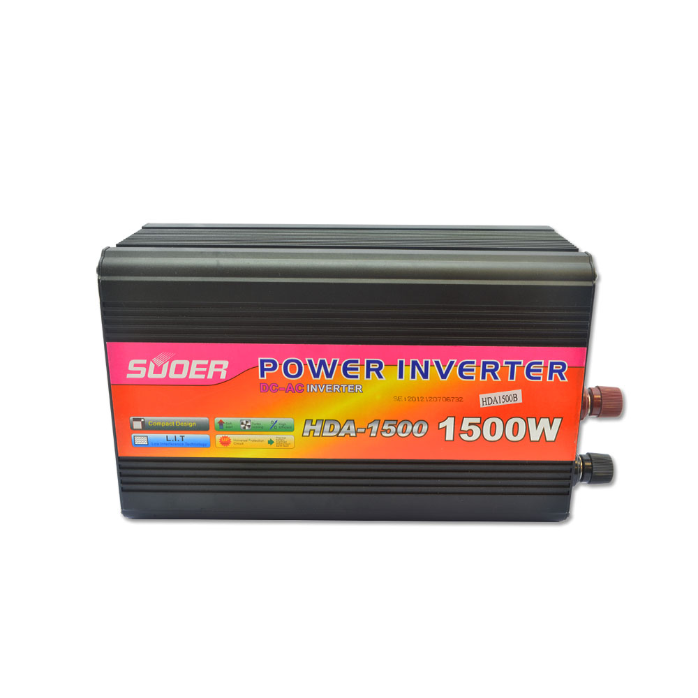 Suoer inverter 24v 220v 1500w power inverter