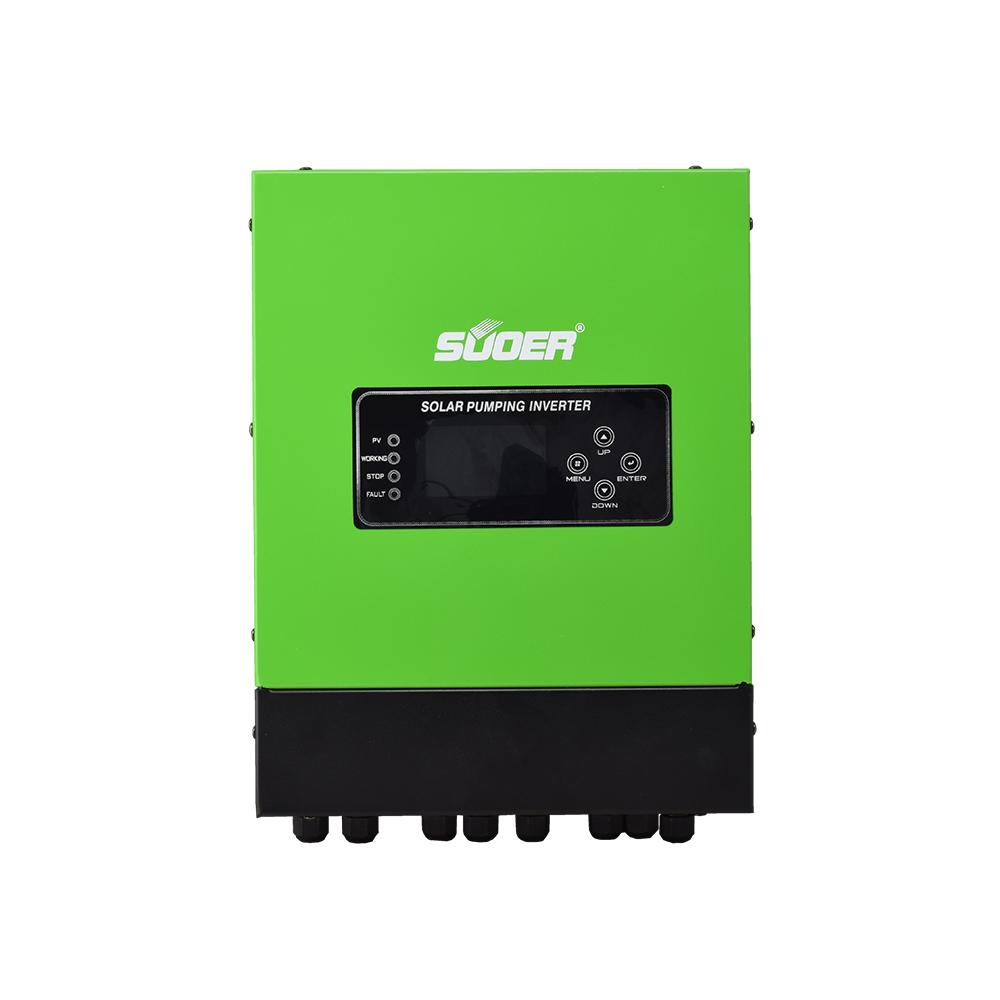 Suoer 22Kw 380V Off Grid Three Phase Hybrid Solar Water Pumping Inverter with RS485/GPRS Communication Port