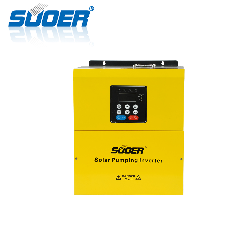 Suoer 380V 4kw Three-phase fan cooling solar water pumping inverter