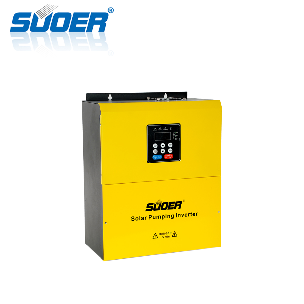 Suoer 380V 5.5kw Three-phase solar water pumping inverter