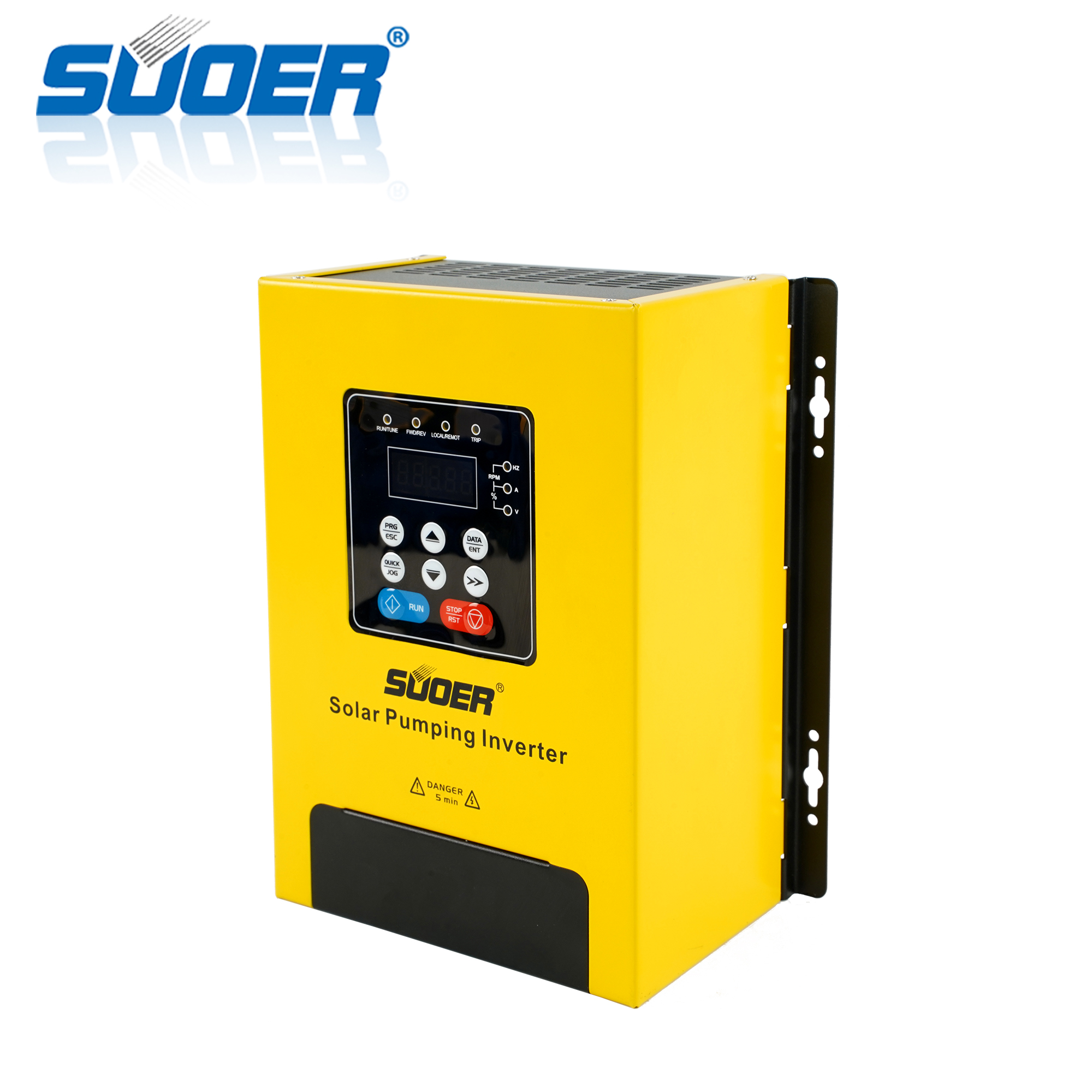 Suoer 220V 1.5kw solar variable-frequency drive pump inverter VFD single-phase solar water pump inverter