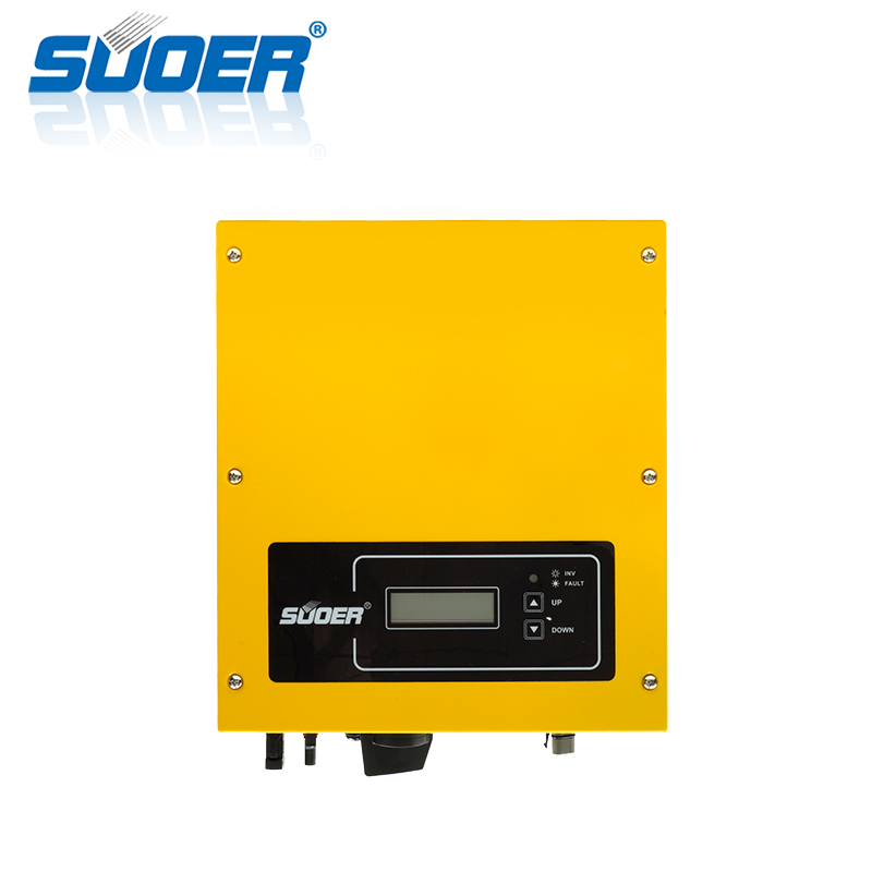 Suoer SOG3K-SM 3000 watt manufacturer on grid Tie inverter 3KW Solar Power on grid inverter 3kw on-grid inverter