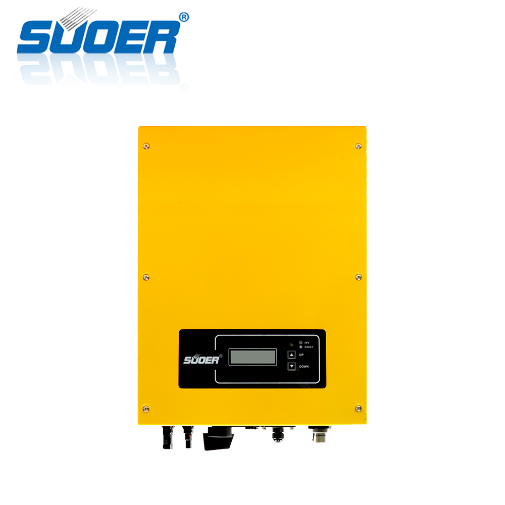 Suoer 5000W New product on Grid Tie inverter Solar Power 5KW MPPT Inverter built-in zero export function