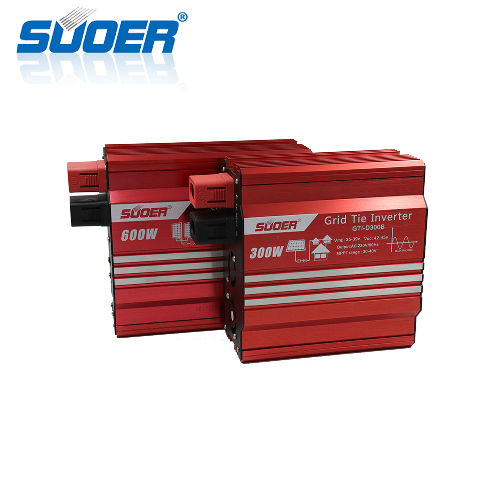 Suoer 600W DC AC solar Power Inverter On Grid Tie Inverter